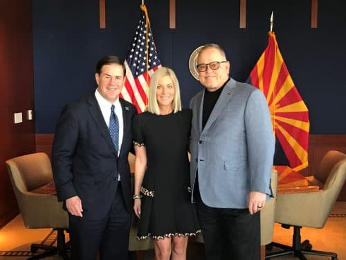 The Bob and Renee Parsons Foundation Gives $3.6M Donation to 100 Club of Arizona