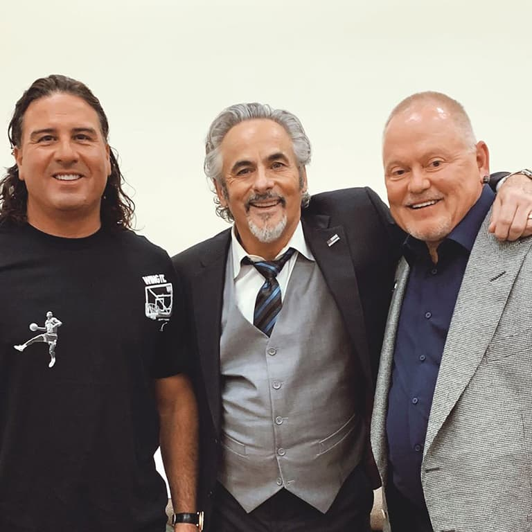 Bob Parsons on Feherty with Pat Perez and Michael Pena.