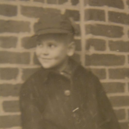 Bob Parsons as a child