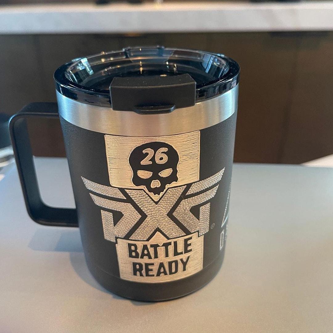 PXG Battle Ready mug