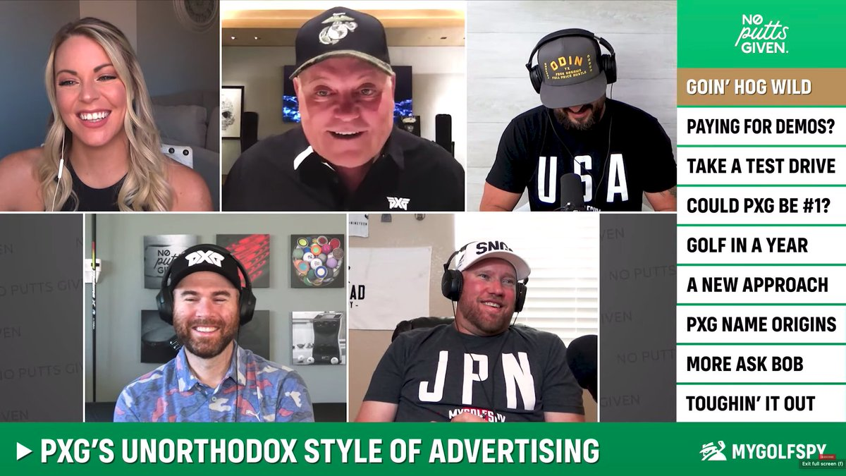 PXG's Unorthodox Style of Advertising, Image of people