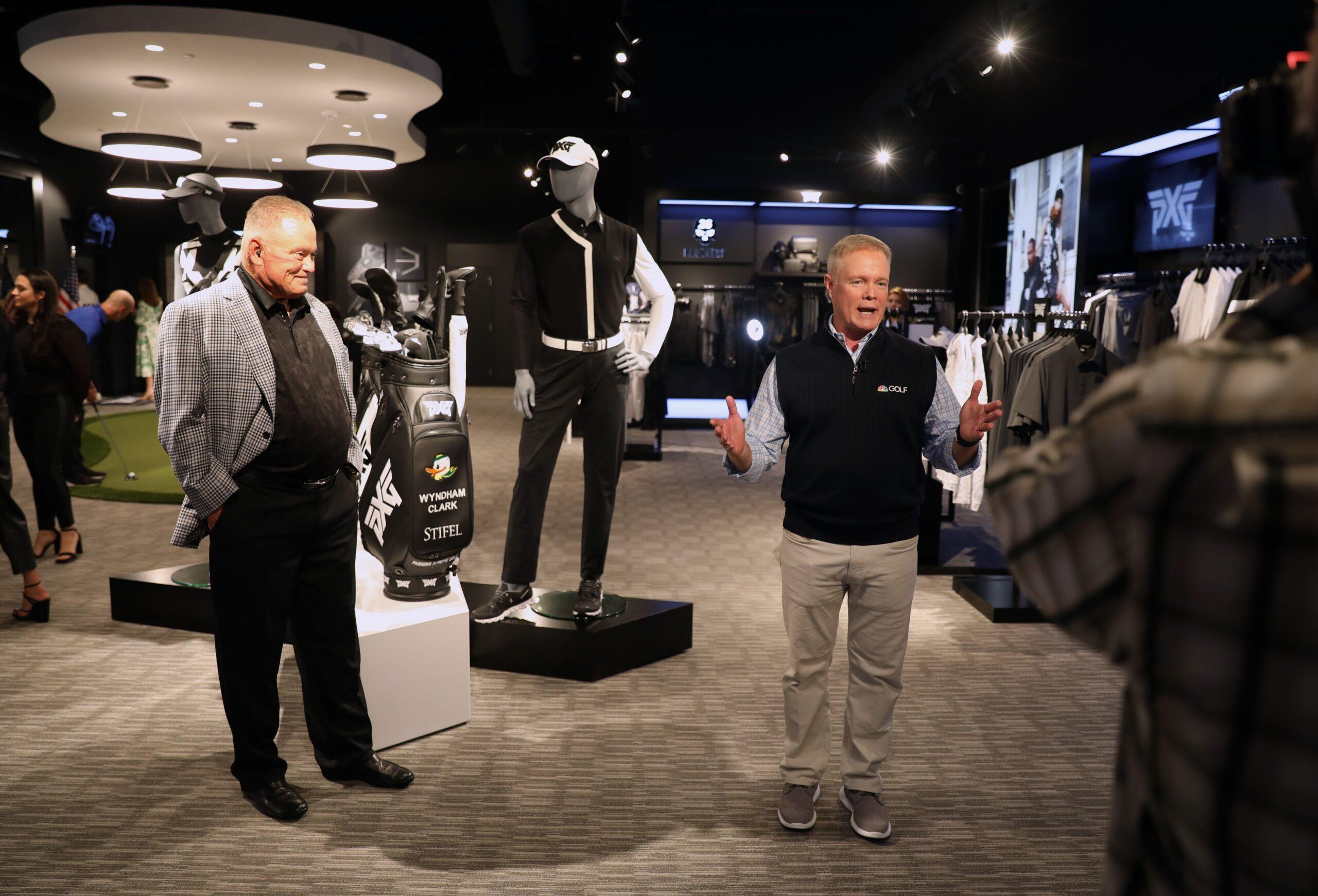 Bob Parsons and Matt Adams at PXG Dallas
